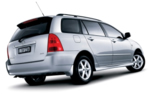 Hire a Station Wagon - Toyota Caldina or similar - All Inclusive in Fiji